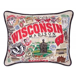 Catstudio Wisconsin University Pillow