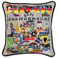 Catstudio Germany Embroidered Pillow