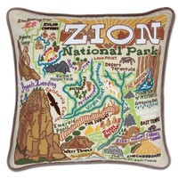 Catstudio Zion Embroidered Pillow