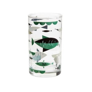 Cubic Ahoy! Table Glass - Fish