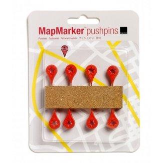 MapMarker Pushpins-Set/8