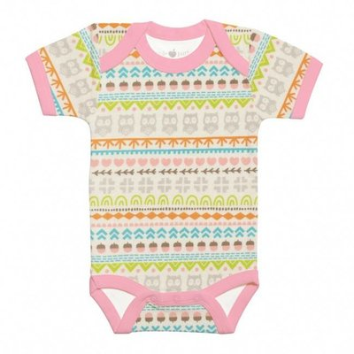 Apple Park Essential Organic Onesie in Gift Box - Fair Isle Lassie