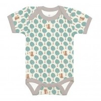 Apple Park Essential Organic Onesie – Blue Forest Fawn