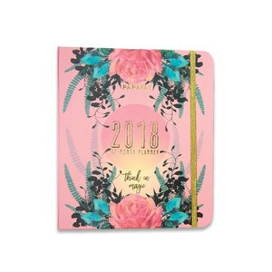 Papaya Natural Rose 2018 - 17 Month Weekly Planner