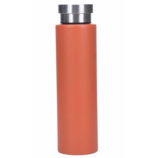 Orange Matte Canteen Water Bottle