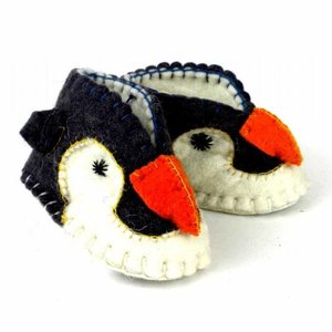 Silk Road Bazaar Zooties - Penguin Baby Booties
