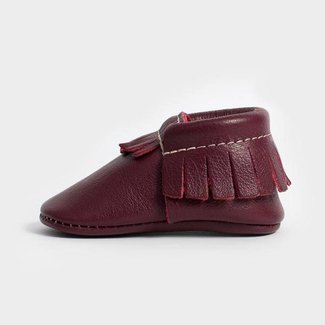 Freshly Picked Moccasins - Burgundy Size 2
