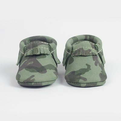 Freshly Picked Moccasins - Green Camo