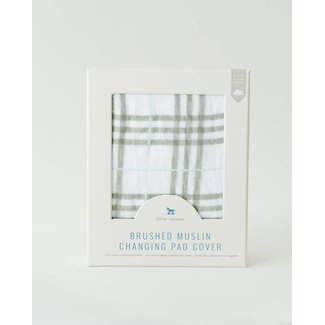 Little Unicorn Brushed Changing Pad Cover - Pendleton Plaid
