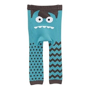 doodle pants Blue Monster Cotton Legging 18-24