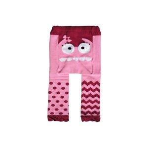 doodle pants Pink Monster Cotton Legging 18-24