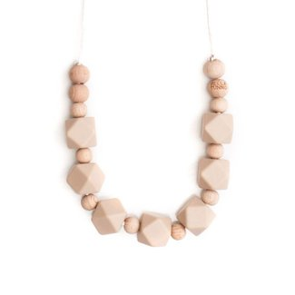 Bella Tunno Teething Necklace - Boston Oatmeal