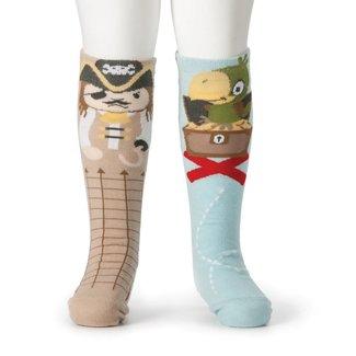 Demdaco COP Pirate & Parrot Knee Socks