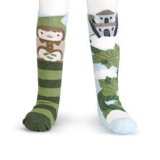Demdaco Jack & The Beanstalk Knee Socks