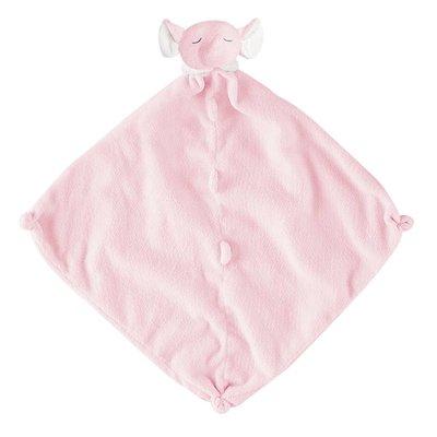 Angel Dear, Inc. Pink Elephant Blankie