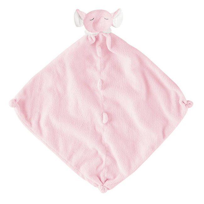 Angel Dear, Inc. Pink Elephant Blankie