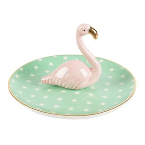 Sass & Belle Tropical Flamingo Trinket Dish