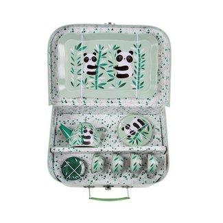 Sass & Belle Aiko Panda Picnic Box Tea Set