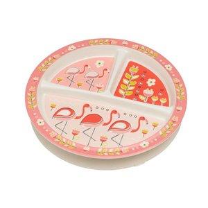 Ore Originals Divided Suction Plate - Flamingo