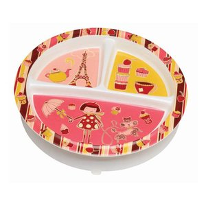 Ore Originals Divided Suction Plate Cupcake