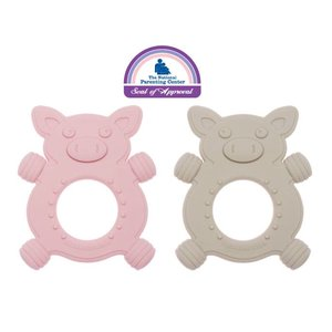Ore Originals Giggly Piggly Silicone Baby Teether Set