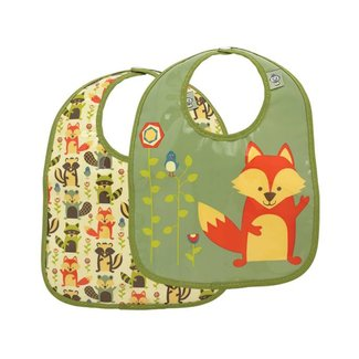 Ore Originals Mini Bib Gift S/2 What did the Fox