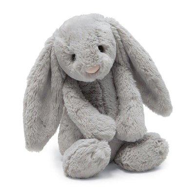 Jelly Cat Bashful Grey Bunny - Medium