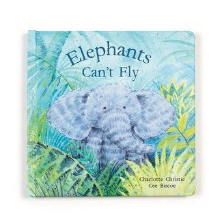 Jelly Cat Elephants Can't Fly Book