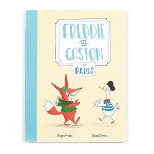 Jelly Cat Freddie & Gaston In Paris Book