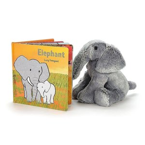 Jelly Cat Elephant Board Book