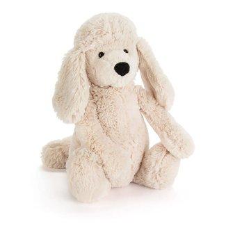 Jelly Cat Bashful Poodle Pup Medium - Cream