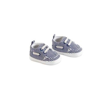 Blue Stripe Boys Shoes