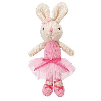 Mud Pie Knit Plush Ballerina Doll