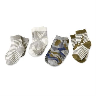 Mud Pie Camo Sock Set