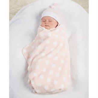 Mud Pie Pink Sweet Baby Hat & Blanket Set