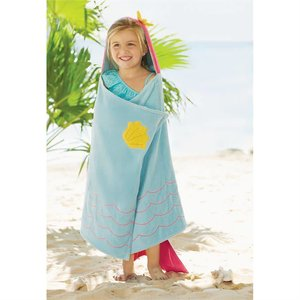 Mud Pie Mermaid Hooded Towel