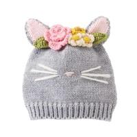 Mud Pie Cat Knitted Hat