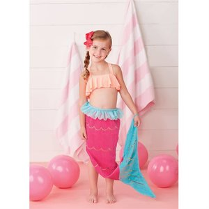 Mud Pie Mermaid Tail Towel