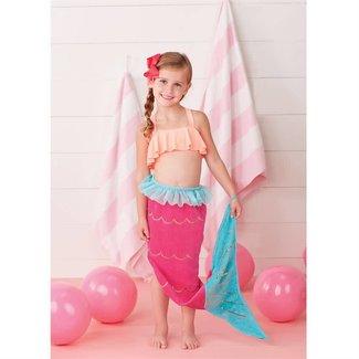 Mud Pie Mermaid Tail Towel