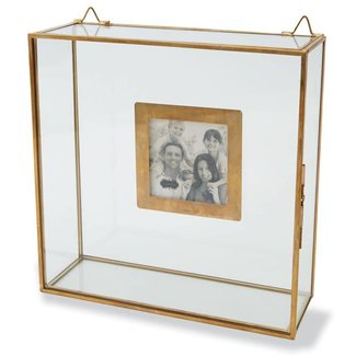 Mud Pie Glass Shadow Box Frame