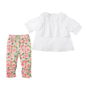 Mud Pie Dobby Floral Tunic & Legging Set