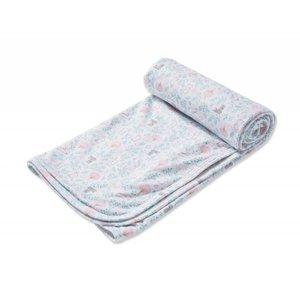 Angel Dear, Inc. Floral Bunny Blanket