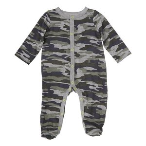 Mud Pie Camo Print Sleeper