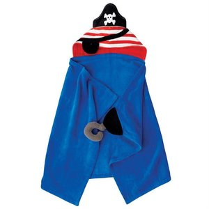 Mud Pie Pirate Hooded Towel