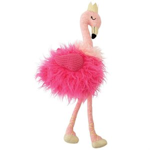 Mud Pie Plush Flamingo Doll