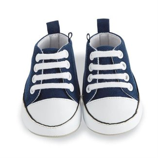 Mud Pie Navy Pre-Walker Shoe