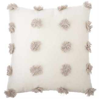 Mud Pie Pom Pom Pillow