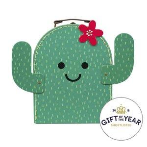 Sass & Belle Happy Cactus Suitcase
