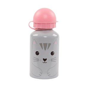 Sass & Belle Nori Cat Kawaii Friends Water Bottle