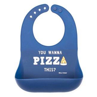 Bella Tunno Wonder Bib - Pizza This